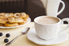 Кофе и palmiers Стоковые Изображения RF