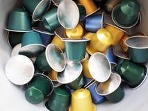 кофе капсулы стоковые изображения
