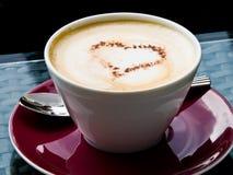 кофе капучино Стоковое Фото