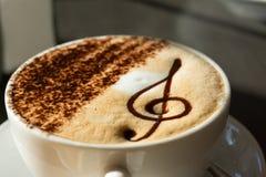Кофе капучино стоковое изображение rf