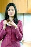 кофе коммерсантки Стоковые Изображения