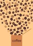 кофе коробки Бесплатная Иллюстрация