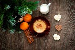 Кофе Кристмас Стоковые Фото