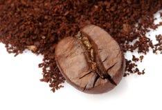кофе крупного плана фасоли стоковая фотография