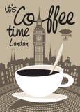 Кофе Лондон Стоковое фото RF