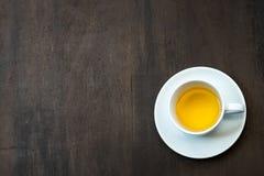 Кофе на большом древесина, Стоковое Изображение RF