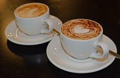 кофе на день валентинки Стоковое Фото