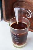 Кофе на деревянной таблице. Стоковые Фото
