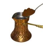 Кофе на плите Стоковая Фотография