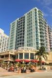 Кофе на южном пляже Майами стоковые фото