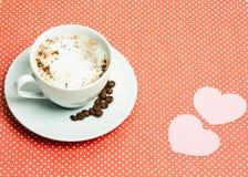 Кофе дня валентинки Стоковое Изображение