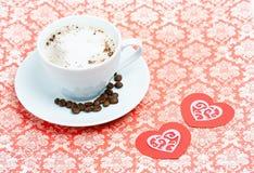 Кофе дня валентинки Стоковая Фотография RF