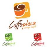 Кофе логотипа Стоковая Фотография