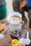 Кофе погружения Стоковое Изображение