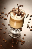 кофе поздно Стоковое Изображение