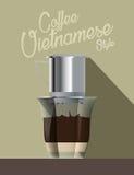 Кофе потека Стоковые Изображения