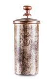 Кофе прессы француза или создатель чая Стоковое Изображение RF