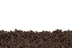 кофе предпосылки запачканный фасолью окаймляет фокус селективный Стоковое Фото