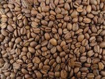 кофе предпосылки запачканный фасолью окаймляет фокус селективный Стоковое Изображение