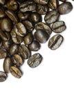 кофе предпосылки мое портфолио для того чтобы приветствовать белизну Стоковая Фотография