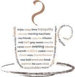 кофе пролома наслаждается вашим иллюстрация вектора