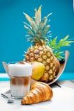 кофе пролома пляжа стоковая фотография rf