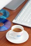 кофе пролома стоковые фото