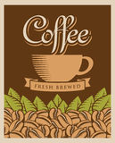кофе ретро Стоковое Фото