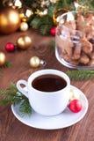 Кофе рождества стоковое изображение