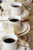 Кофе сервировки Стоковые Фото