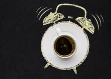 Кофе сигнала тревоги Стоковая Фотография RF