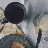 Кофе с здравицей Стоковые Фото