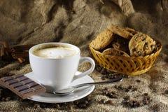 Кофе с молоком Стоковая Фотография RF