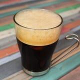 Кофе с пеной Стоковые Изображения