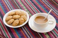 Кофе с печеньями стоковые фото