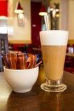 Кофе с сахаром стоковая фотография