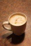 Кофе с сердцем сахара Стоковое фото RF