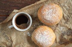 Кофе с donuts Стоковые Фотографии RF