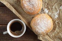 Кофе с donuts Стоковая Фотография RF