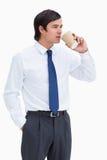 Кофе топтаща выпивая из бумажного стаканчика Стоковые Изображения