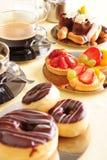 кофе торта свежий Стоковые Изображения RF