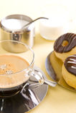 кофе торта свежий Стоковые Изображения