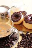 кофе торта свежий Стоковая Фотография