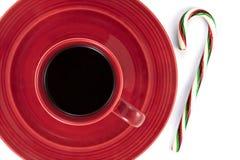 кофе тросточки конфеты стоковое фото rf