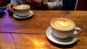 2 кофе угождают? Стоковое Изображение RF
