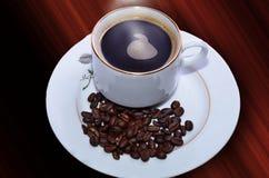 Кофе утра горячий Стоковая Фотография