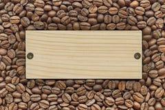 кофе фасолей предпосылки Стоковые Фото