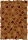 кофе фасолей предпосылки иллюстрация штока