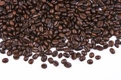 кофе фасоли близкий вверх Стоковые Изображения RF