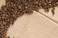 кофе фасоли предпосылки Стоковые Изображения
